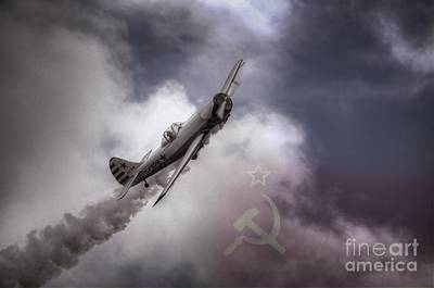 Yak Digital Art - G-cbpm Yak 50 by Nigel Bangert
