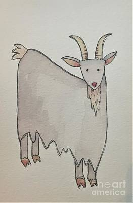 Painting - G Is For Goat by Tonya Henderson