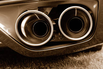 Photograph - G T R Exhaust by John Schneider