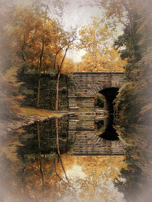 Photograph - Autumn Echo Vignette by Jessica Jenney