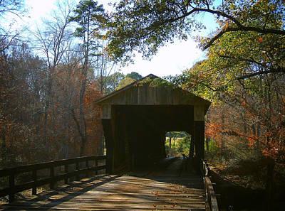 Ga. Covered Bridge Art Print by Navarre Photos