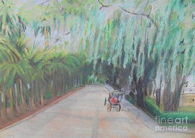 Painting - Ga - Savannah by Christine Lathrop