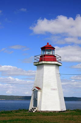 Photograph - Gabarus Lighthouse by Tatiana Travelways