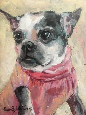Painting - Gabby by Susan Elizabeth Jones