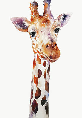 Painting - Gabe The Giraffe by Arti Chauhan