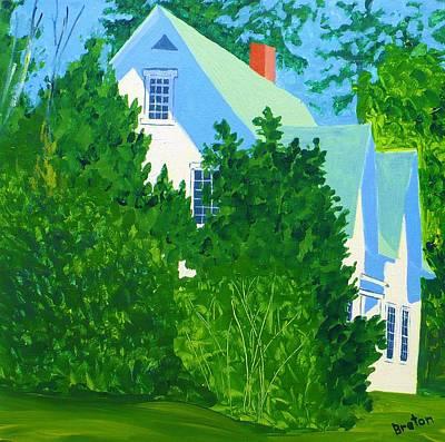 Gables Art Print by Laurie Breton