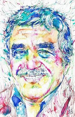 Gabriel Garcia Marquez - Portrait.2 Original