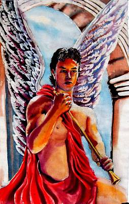Painting - Gabriel by Robert D McBain