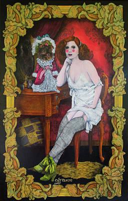Painting - Gabriela Y Gabriela by TP Dunn