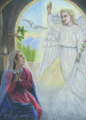 Gabriel's Revelation Art Print