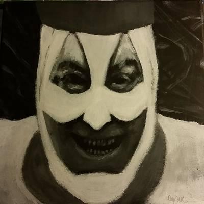 Creepy Mixed Media - Gacy The Clown  by Cody Gotts