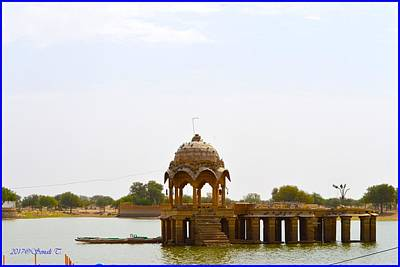 Photograph - Gadisar Lake by Sonali Gangane