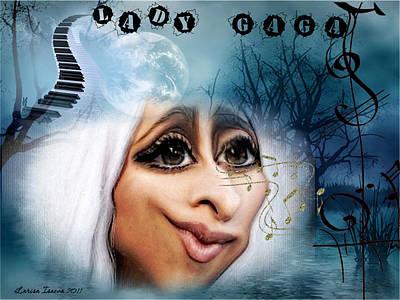 Digital Art - Gaga by Larisa Isaeva