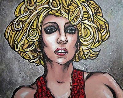 Gaga Art Print by Sarah Crumpler