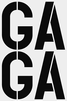 Gaga Art Print by Three Dots