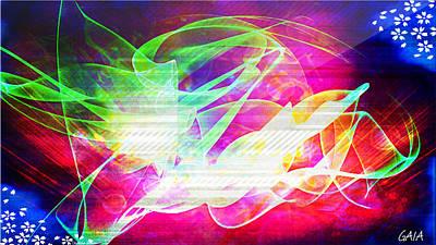 Gaia Digital Art - Gaia by Christina Trevino