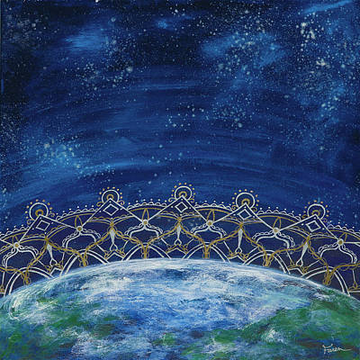 Gaia Mixed Media - Gaia  by Faren Peterson