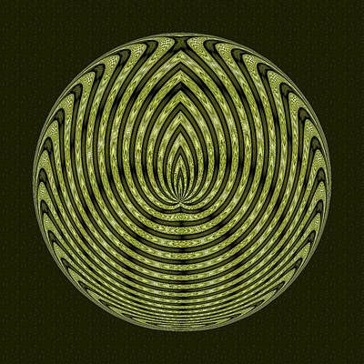 Digital Art - Gaia Medallion  by Doug Morgan