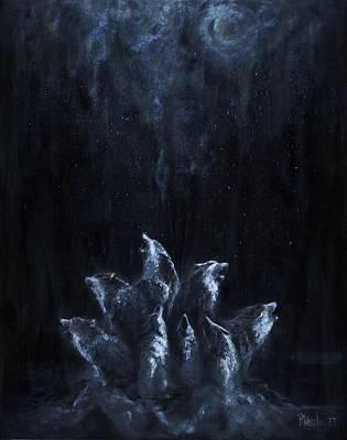 Painting - Gaia's Chorus by Patricia Kanzler