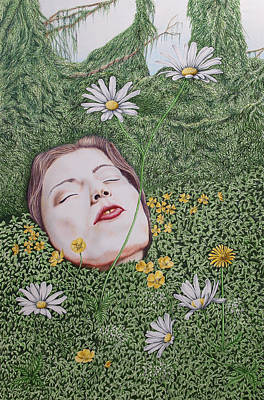 Gaia's Slumber Art Print by Paul Parsons