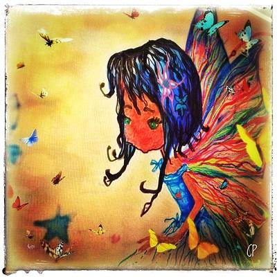 Mixed Media - Gaia's Sprite by Christine Paris