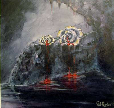 Painting - Gaia's Tears by Patricia Kanzler