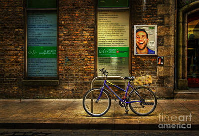 Art Print featuring the photograph Gaiety Bicycle by Craig J Satterlee