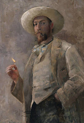Ruger Painting - Gaines Ruger Donoho by John Lavery