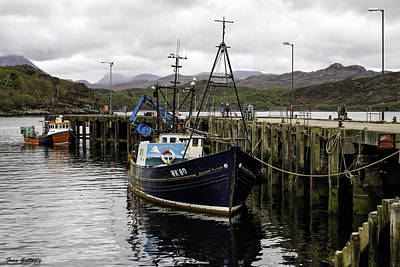 Photograph - Gairloch Harbor by Fran Gallogly