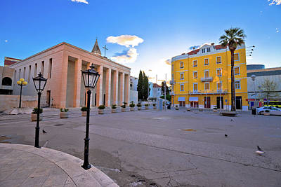 Photograph - Gaje Bulata Square In Split View by Brch Photography