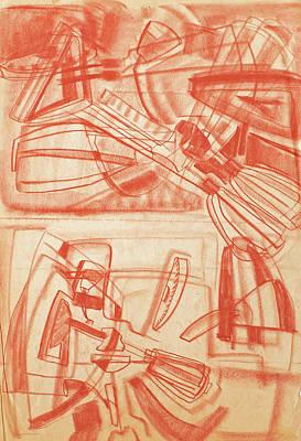 Drawing - Gajits by Phyllis Hanson Lester
