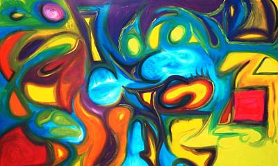 Alfredo Llana Painting - Gala 2 by Alfredo Dane Llana