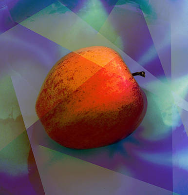 Photograph - Gala Apple by David Pantuso
