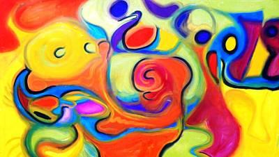 Alfredo Llana Painting - Gala1 by Alfredo Dane Llana