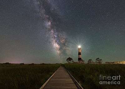 Photograph - Galactic Beacon   by Michael Ver Sprill