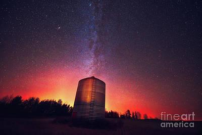 D800 Photograph - Galactic Prairie by Ian McGregor