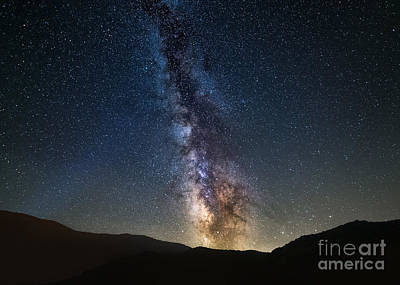 Photograph - Galactic Rise by Anthony Heflin