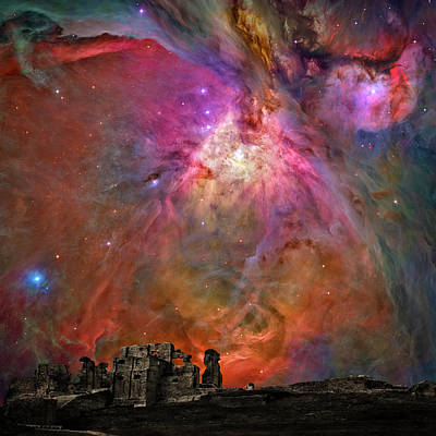 Photograph - Galactic Ruins by Wes and Dotty Weber