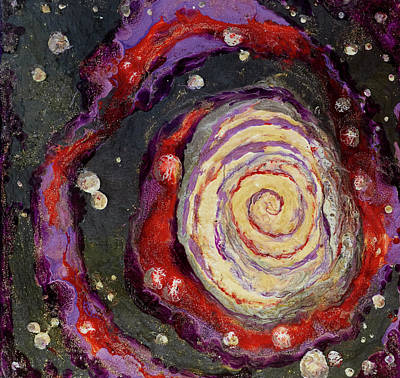 Painting - Galactic Spiral by Patricia Beebe