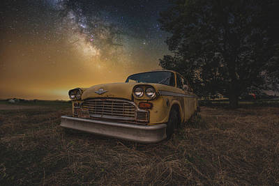 Photograph - Galactic Taxi by Aaron J Groen