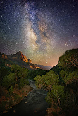 Photograph - Galactic Watchman by Ryan Moyer