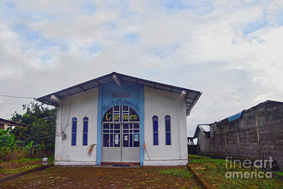 Photograph - Galapagos Church by Catherine Sherman