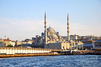 Photograph - Galata Bridge 3 by Andrew Dinh