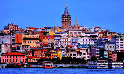 Photograph - Galata Tower, Istanbul by Pixabay