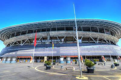 Photograph - Galatasaray Stadium Istanbul by David Pyatt
