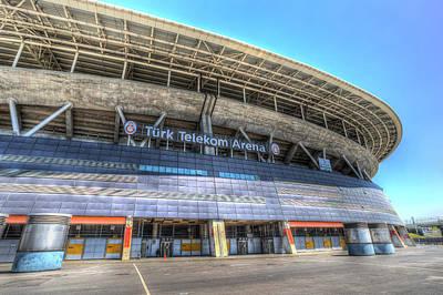 Photograph - Galatasaray Stadium Istanbul Turkey by David Pyatt
