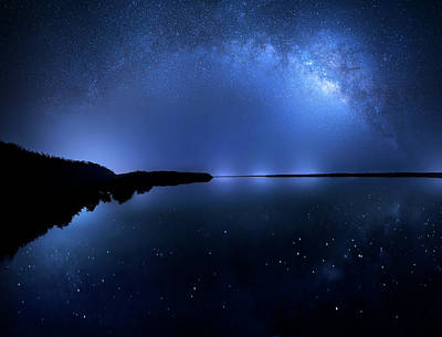 Photograph - Galaxia by Mark Andrew Thomas