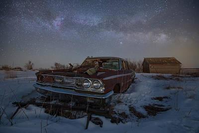 Photograph - Galaxie 500 II  by Aaron J Groen