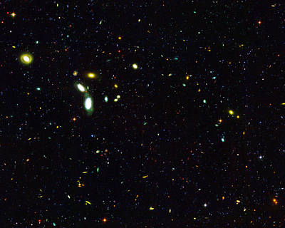 Photograph - Galaxies By The Thousands by Paul W Faust - Impressions of Light