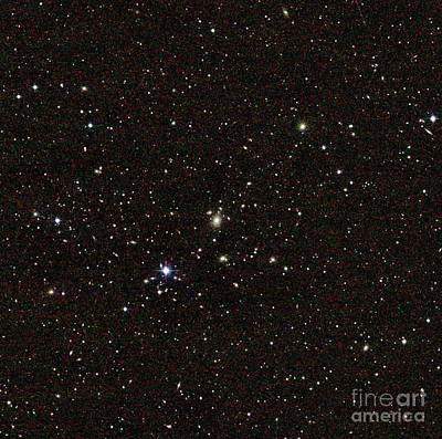 Heavenly Body Photograph - Galaxy Cluster, Abell 3558, Shapley 8 by Science Source